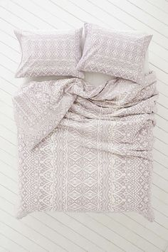 Plum & Bow Agra Stripe Duvet Cover - Urban Outfitters