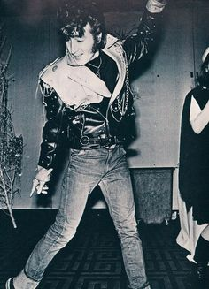 John Lennon as Elvis Presley