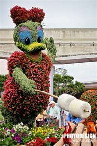 Love Epcot's Flower and Garden Festival!!