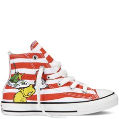 38649f2fb74a Chuck Taylor Dr Seuss white grenadine These are amazing!