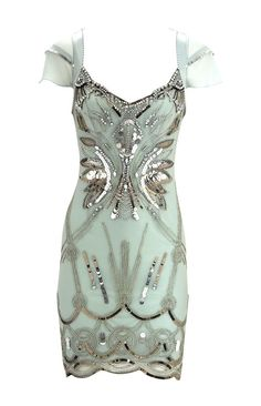 turquoise-silver-dress - Once Wed