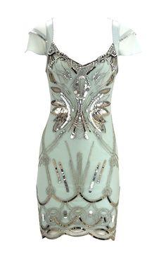 Karen Millen Diamante Embellished Flapper Dress