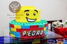Bolo Lego - Cake Lego -  - Amor de CupCake Curitiba