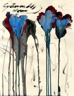 topcat77:   Cy Twombly American artist, b. 1928 ... - MA DIVINE COMEDIE (DantéBéa)