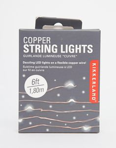 - Description - Specs Install dazzling lights wherever you need with 6 feet of flexible copper wire that contains 20 super bright LED lights. Hang it anywhere like windows, plants, and mirrors. My New Room, My Room, Home Projects, Projects To Try, Led Licht, Fairy Lights, String Lights, Diy Home Decor, Home Improvement