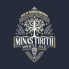 Minas Tirith White Ale T-Shirt