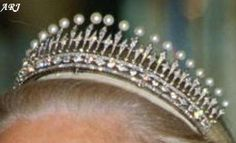 Kent Jewels: The Diamond and Pearl Tiara is currently the only known major tiara in the possession of the Duchess of Kent.