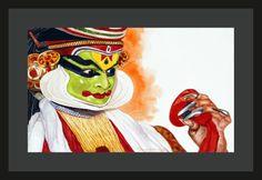 """"""" Kathakali Dancer 3 """" by Jeyaprakash M"""