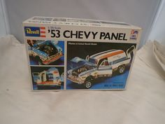 1953 53 CHEVY PANEL REVELL 1:25 SCALE SKILL 2 VINTAGE PLASTIC MODEL KIT #H-1376 #Revell