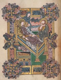 The Nativity by Anonymous - British Library Prints