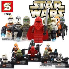 Star Wars 7 The Force Awakens Minifigures Star Wars Minifigures Kylo Ren With Star Wars Lightsaber BB-8 R2-D2 BB8 Toys