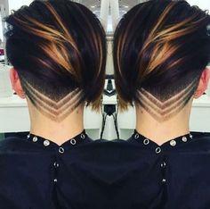 Atemberaubende Undercut Pixie Thanks @ Cut By # UCFeed… – Frisuren Neue Frisuren und Haarfarben Undercut Hairstyles, Pixie Hairstyles, Pixie Haircut, Short Haircut, Cool Hairstyles, Undercut Pixie, Female Undercut, Haircut 2017, Men's Hairstyle