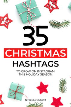Find cute and funny Christmas hashtags for Instagram with this guide to the top 35 for this year! Extend the reach of your posts by choosing the right hashtags! This guide will show you exactly how to do it this holiday season. Click here to start growing your account over the holidays! #christmas #christmashashtags #instagramchristmas #instagram #instagramtips #hashtags