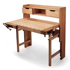 Folding Workbench - oooh I like it.