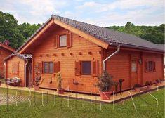 Das Blockhaus Taunus gibt es in fünf verschiedene Wandstärken und bestehen aus Blockbohlen aus nordischer Fichte mit doppelter Nut und Feder.