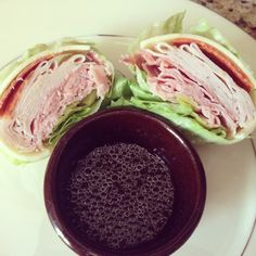 "#Keto Recipe: Tasty Italian ""Sub"" w/ Lettuce Wrap - no bread!"