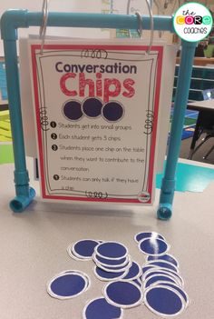 Get students talking in small groups with the strategy. Meets Speaking and Listening Core Standards.