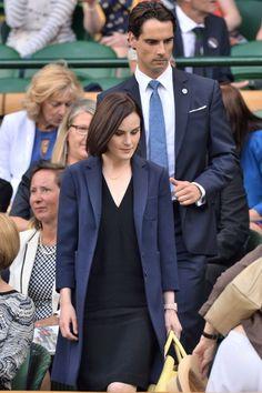 Michelle Dockery at Wimbledon