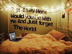 yes i would!!! if you know what this is from like this ;) and i so want this in my room