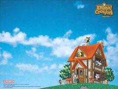 Animal Crossing was developed and published by Nintendo. The soundtrack was composed by Kazumi Totaka, Kenta Nagata, Toru Minegishi, and Shinobu Tanak. Animal Crossing Movie, Animal Crossing Gamecube, Animal Crossing Pocket Camp, Animal Wallpaper, Wallpaper Backgrounds, Wallpapers, Pink Animals, Cute Animals, Spring Wallpaper