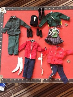 Vintage Original Palitoy Action Man Outfits in Toys & Games, Action Figures, Military & Adventure | eBay