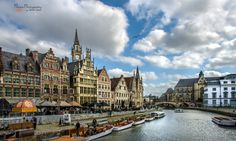 Postcard from Ghent  by PhotonPhotography -Viktor Lakics on 500px