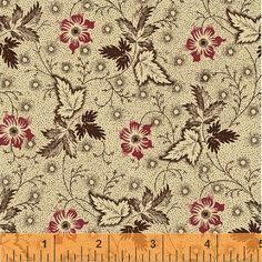 Edith ca. 1840-1870, 40160-1, Windham Fabrics