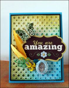 Paper Fantasee - The Craft Blog: Glitter-Fly