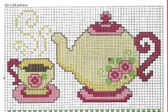 Types Of Embroidery, Embroidery Designs, Cross Stitch Designs, Cross Stitch Patterns, Cross Stitching, Cross Stitch Embroidery, Cross Stitch Kitchen, Cross Stitch Rose, Plastic Canvas Patterns