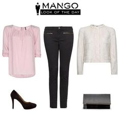 Dream outfit for a day in the city Mango Looks, Fashion Now, Womens Fashion, Mango Fashion, Black And White Colour, Classy And Fabulous, Dress Codes, Timeless Fashion, Boyfriend Jeans