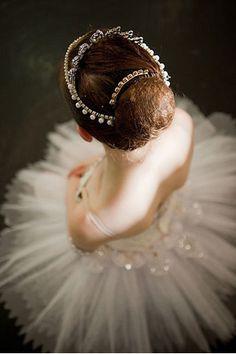ballerina style portrait