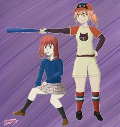 Haruko and Mamimi from FLCL!