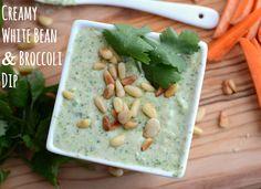 Skinny Dip: White Bean and Broccoli Dip 114 Calories
