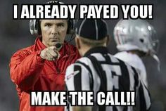 Yup! Bad calls all game. Refs should be fired!