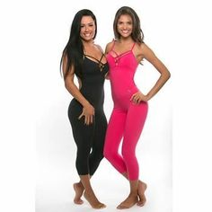 Sexy Brazilian Fitness Jumpsuit - HealthyFitCouple.com #yogajumpsuits