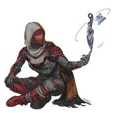 Destiny Cayde 6, Destiny Fallen, Destiny Comic, Destiny Hunter, Destiny Bungie, Character Concept, Character Art, Concept Art, Character Design
