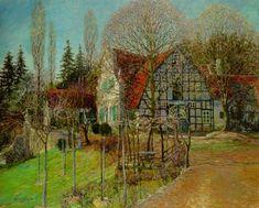 Heinrich Vogeler - Early Spring, 1907