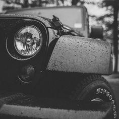 Rainy Jeep