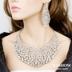 High Quality Hot Selling Promotion Wedding Jewelry Set Free Shipping $29.00