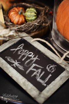 {Autumn Decor} Let's Decorate A Mantel for Fall