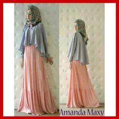 Baju Muslim Trendy Modern Amanda Maxi