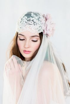 The COLETTE Lavender Juliet Veil is from our new 2016 Collection  Our most favourite Juliet veil ever! As seen in the December/January issue