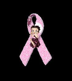 Betty Boop cancer awareness..