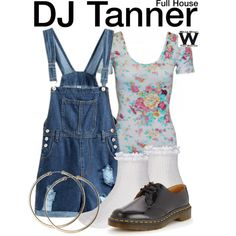 Inspired by Candice Cameron as DJ Tanner on Full House.