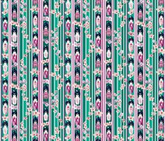 Ladies in Waiting fabric by art_on_fabric on Spoonflower - custom fabric