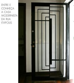 x by amna mulabegovich Modern Entrance Door, Entrance Doors, Stairs And Doors, Windows And Doors, Architecture Details, Interior Architecture, Art Deco Door, Door Detail, Modern Art Deco