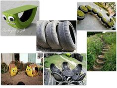 Easy Homesteading: Ideas To Reuse Tires