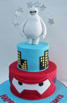 Big hero 6, grandes héroes 6 cake