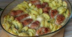 Recipe for meat rolls with potatoes in cream I Love Food, Good Food, Yummy Food, Creamy Potato Bake, Meat Recipes, Chicken Recipes, Italian Chicken Dishes, Meat Rolls, Ramadan Recipes