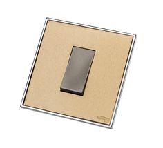 Decorative Brass Switch Plates